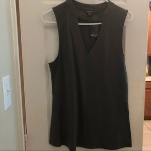 NWT Torrid Cut-out tank top Size 1